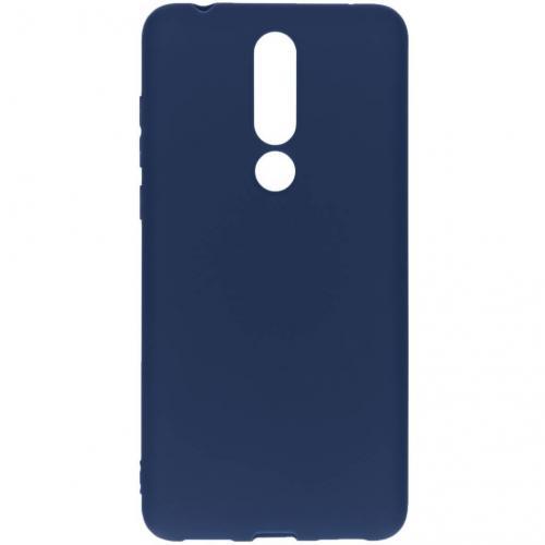Color Backcover voor Nokia 3.1 Plus - Donkerblauw
