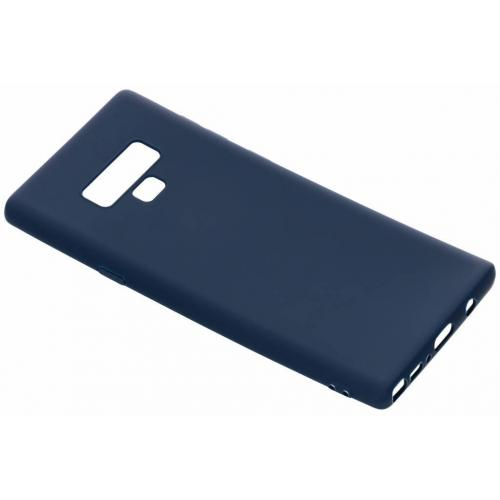 Color Backcover voor Samsung Galaxy Note 9 - Donkerblauw