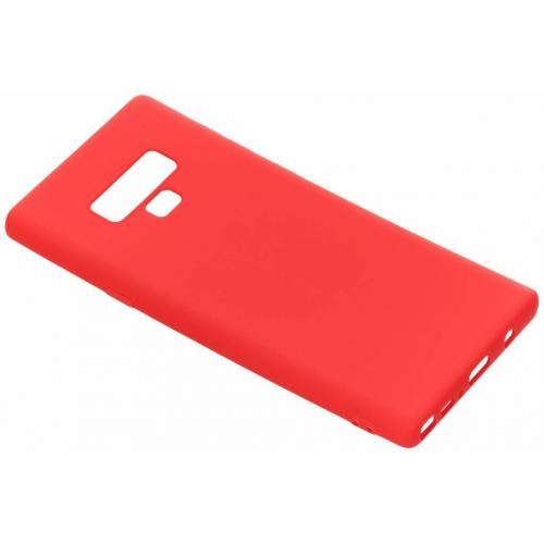 Color Backcover voor Samsung Galaxy Note 9 - Rood