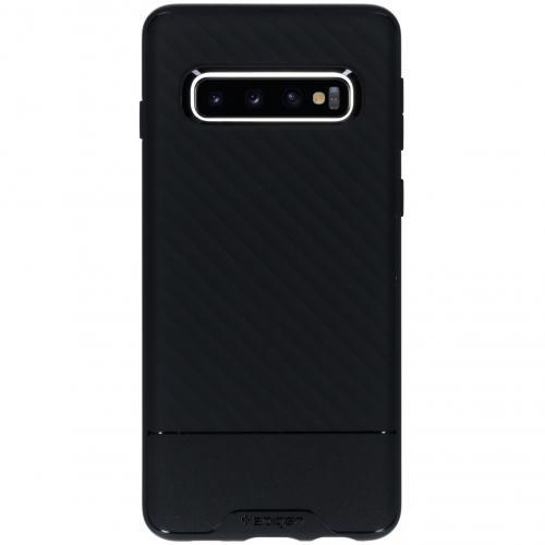 Core Armor Backcover voor Samsung Galaxy S10 - Zwart