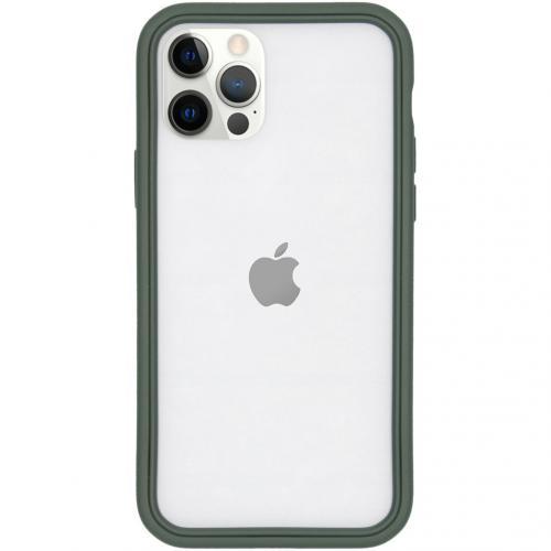 CrashGuard NX Bumper voor de iPhone 12 (Pro) - Groen