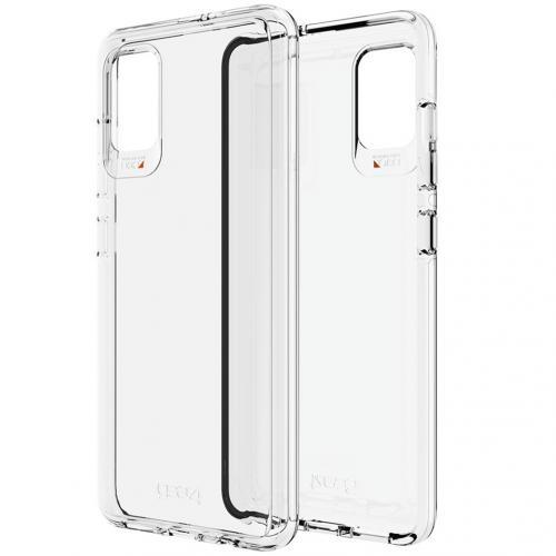 Crystal Palace Backcover voor de Samsung Galaxy A71 - Transparant