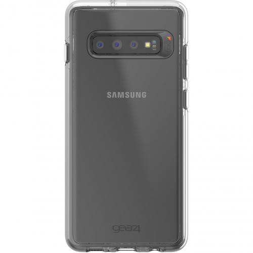 Crystal Palace Backcover voor de Samsung Galaxy S10 Plus - Transparant