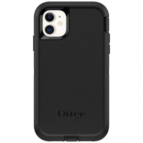 Defender Rugged Backcover voor de iPhone 11 - Zwart