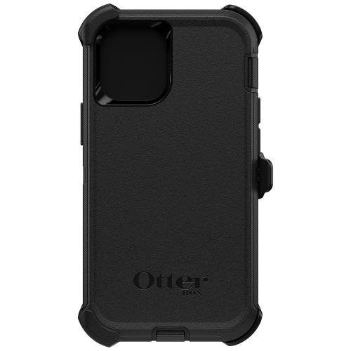 Defender Rugged Backcover voor de iPhone 12 Mini - Zwart