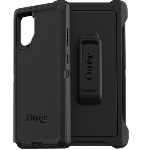 Defender Rugged Backcover voor de Samsung Galaxy Note 10 Plus - Zwart