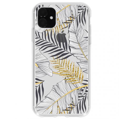 Design Backcover voor de iPhone 11 - Glamour Botanic