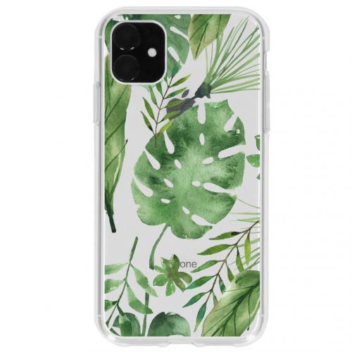 Design Backcover voor de iPhone 11 - Monstera Leafs