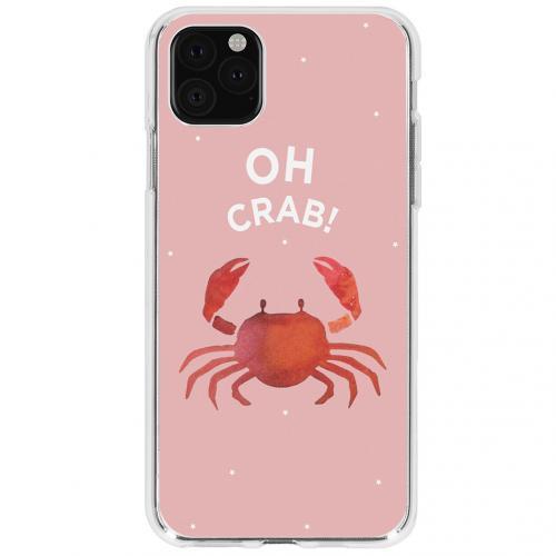 Design Backcover voor de iPhone 11 Pro - Oh Crab