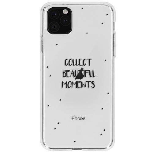 Design Backcover voor de iPhone 11 Pro - Quote
