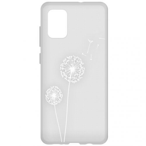 Design Backcover voor de Samsung Galaxy A71 - Paardenbloem