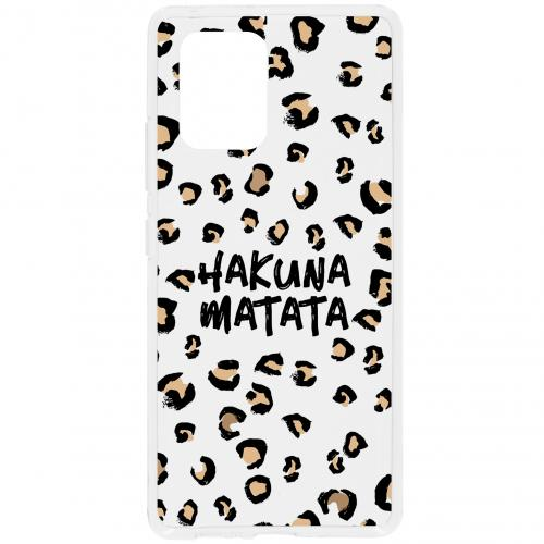 Design Backcover voor de Samsung Galaxy S10 Lite - Hakuna Matata