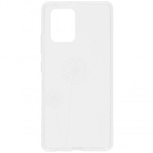 Design Backcover voor de Samsung Galaxy S10 Lite - Paardenbloem