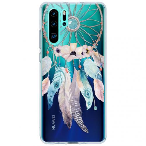 Design Backcover voor Huawei P30 Pro - Dromenvanger Feathers