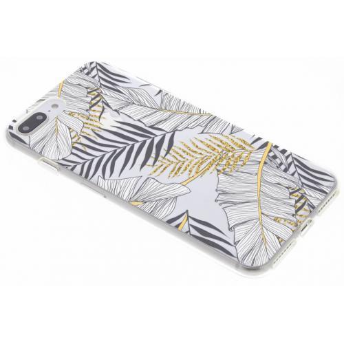 Design Backcover voor iPhone 8 Plus / 7 Plus - Glamour Botanic