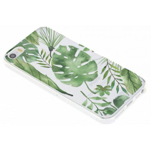 Design Backcover voor iPhone SE / 5 / 5s - Monstera Leafs