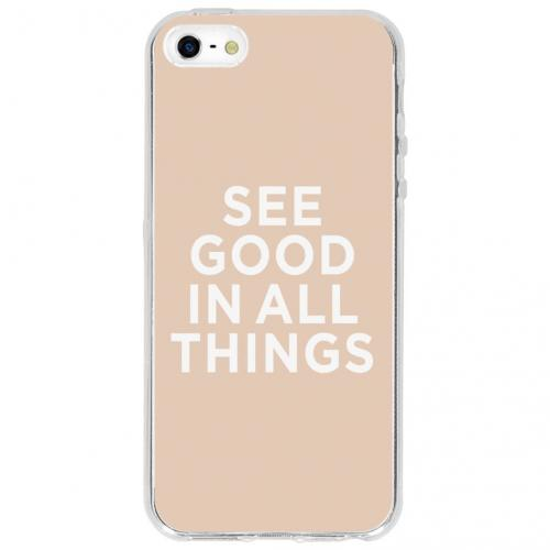 Design Backcover voor iPhone SE / 5 / 5s - See Good