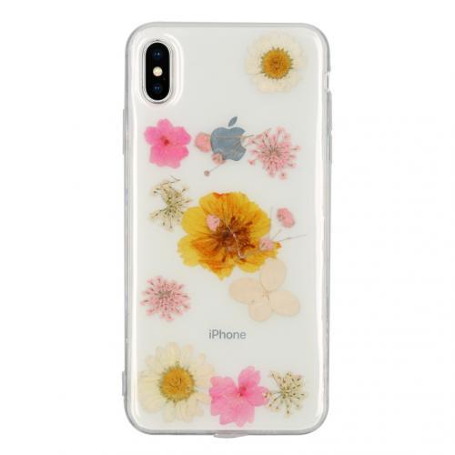 Design Hardcase Backcover voor de iPhone Xs Max - Dried Flower