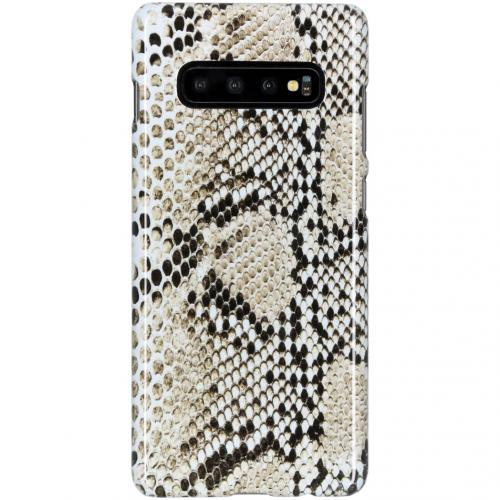 Design Hardcase Backcover voor de Samsung Galaxy S10 Plus - Snake It