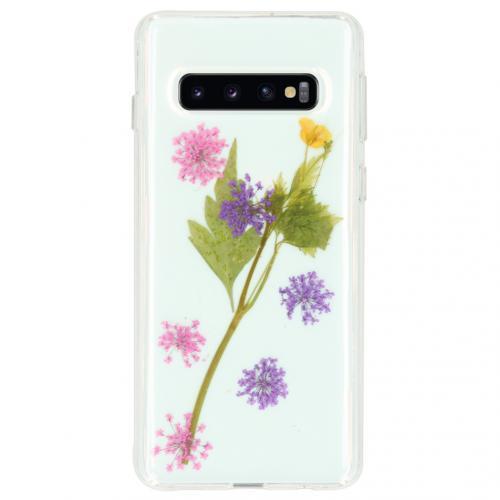 Design Hardcase Backcover voor de Samsung Galaxy S10 - Wildflower