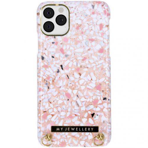 Design Hardcase Koordhoesje voor de iPhone 11 Pro Max - Pink Brick