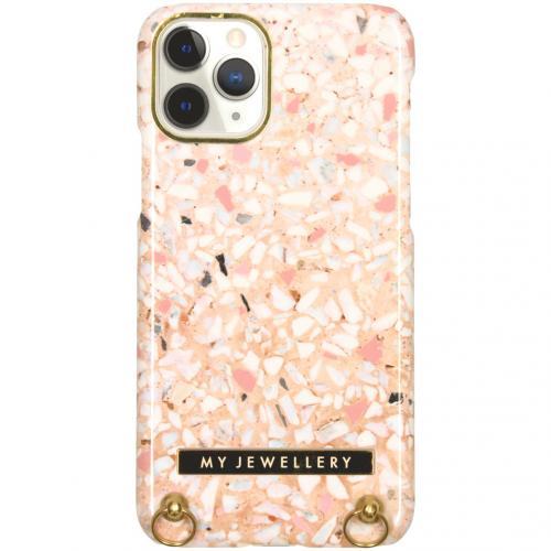Design Hardcase Koordhoesje voor de iPhone 11 Pro - Pink Brick
