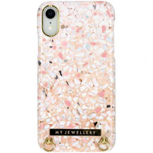 Design Hardcase Koordhoesje voor de iPhone Xr - Pink Brick