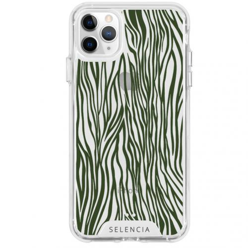Design Impact Backcover voor de iPhone 11 Pro Max - Zazzy Zebra