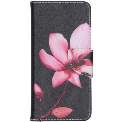 Design Softcase Booktype voor de Samsung Galaxy A41 - Bloemen