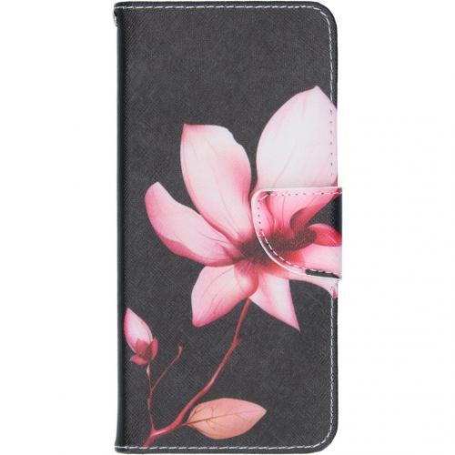 Design Softcase Booktype voor de Samsung Galaxy A42 - Bloemen