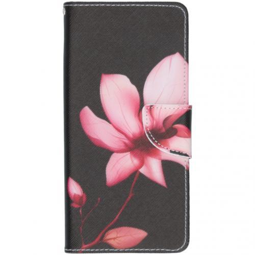 Design Softcase Booktype voor de Samsung Galaxy A71 - Bloemen