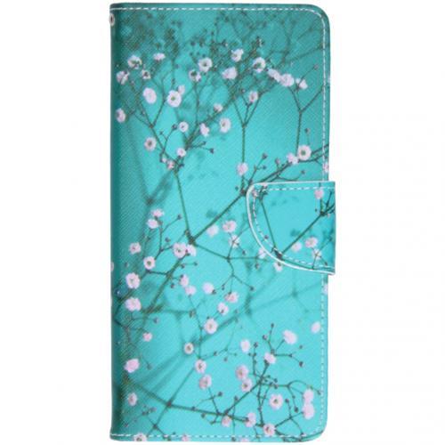 Design Softcase Booktype voor de Samsung Galaxy A71 - Bloesem