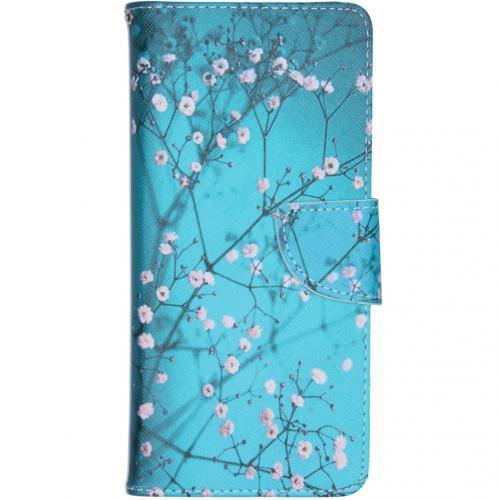 Design Softcase Booktype voor de Samsung Galaxy S10 Lite - Bloesem
