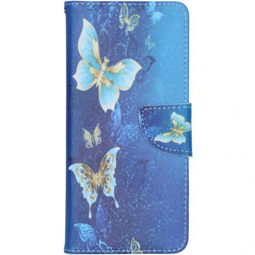 Design Softcase Booktype voor de Samsung Galaxy S10 Lite - Vlinders