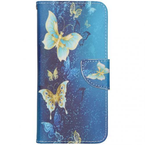 Design Softcase Booktype voor de Samsung Galaxy S20 FE - Vlinders