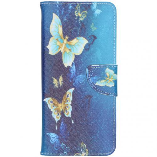 Design Softcase Booktype voor de Samsung Galaxy S20 Ultra - Vlinders