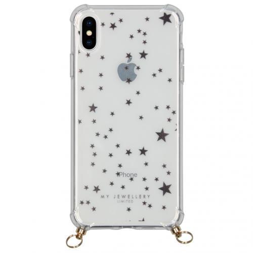 Design Softcase Koordhoesje voor de iPhone Xs Max - Stars