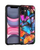 Design voor de iPhone 11 hoesje - Jungle - Butterfly