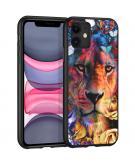Design voor de iPhone 11 hoesje - Jungle - Leeuw