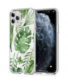 Design voor de iPhone 11 Pro hoesje - Bladeren - Groen