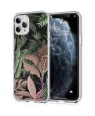Design voor de iPhone 11 Pro hoesje - Jungle - Groen / Roze