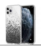 Design voor de iPhone 11 Pro hoesje - Spetters - Zwart