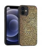 Design voor de iPhone 12 Mini hoesje - Grafisch - Goud