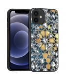 Design voor de iPhone 12 Mini hoesje - Grafisch - Goud Bling