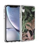 Design voor de iPhone Xr hoesje - Jungle - Groen / Roze