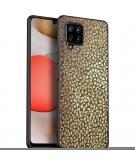 Design voor de Samsung Galaxy A42 hoesje - Grafisch - Goud
