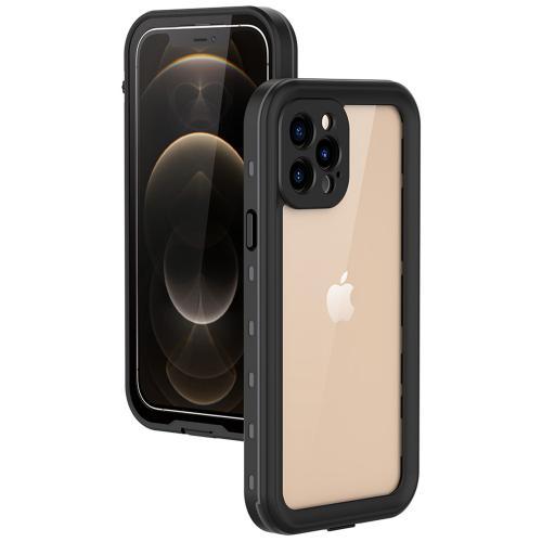 Dot Plus Waterproof Backcover voor de iPhone 12 Pro - Zwart