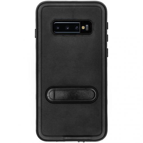 Dot Plus Waterproof Backcover voor de Samsung Galaxy S10 - Zwart
