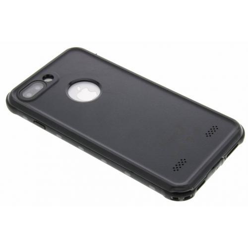 Dot Plus Waterproof Backcover voor iPhone 8 Plus / 7 Plus - Zwart