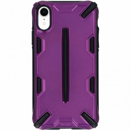 Dual X Backcover voor iPhone Xr - Paars